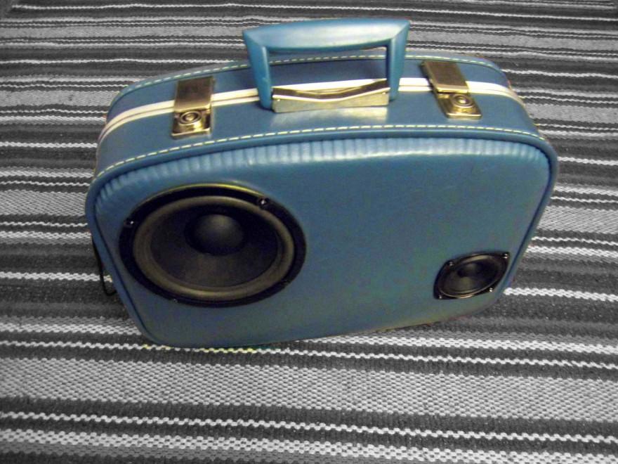Vintage Suitcase BoomCase