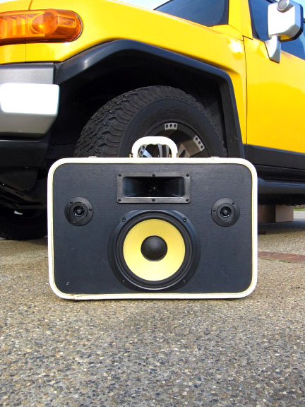 Yellow Subwoofer